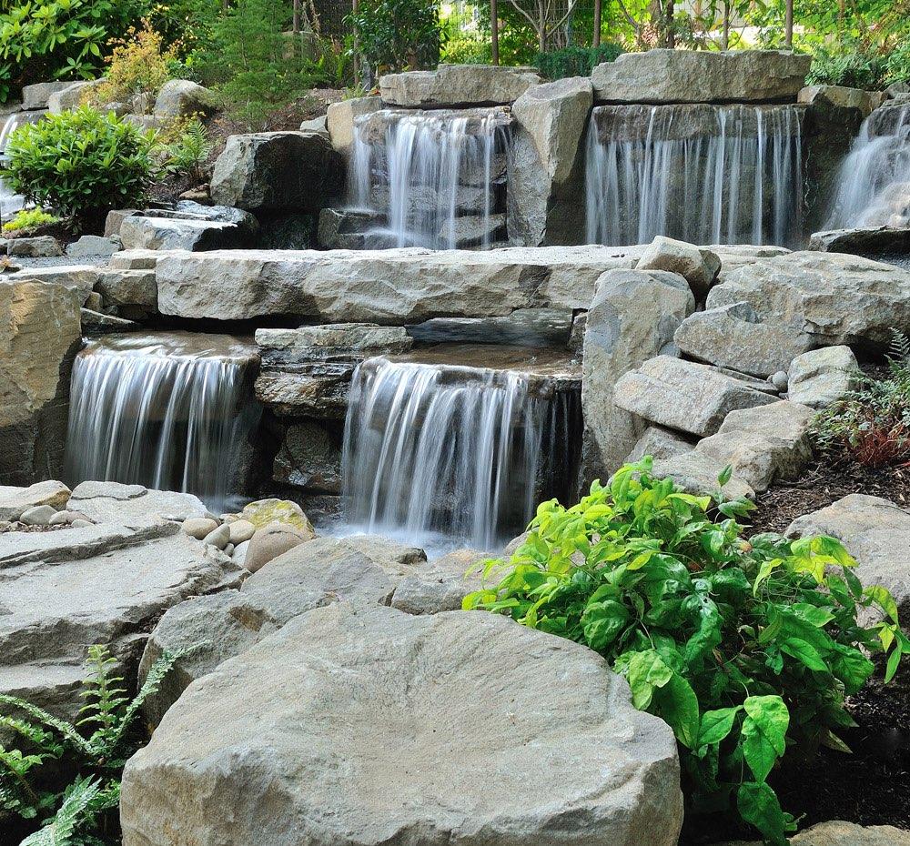 Водопады и каскады своими руками фото